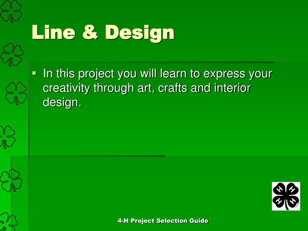 Ppt 4 H Project Selection Guide Powerpoint Presentation Free Download Id 3194741