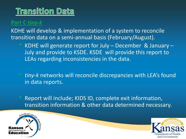 Transition Data
