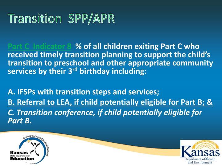 Transition  SPP/APR