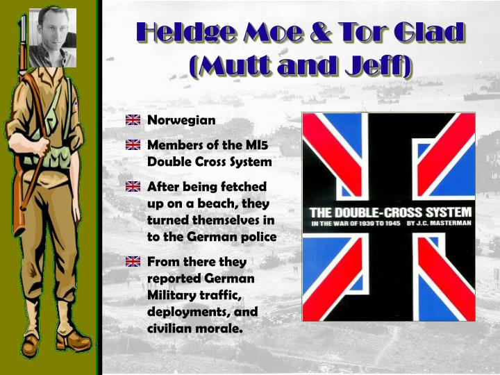 Heldge Moe & Tor Glad (Mutt and Jeff)