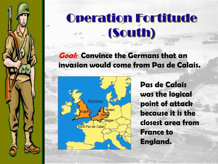 Operation Fortitude (South