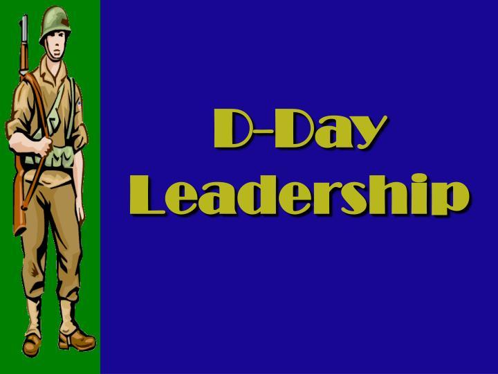 D-Day Leadership