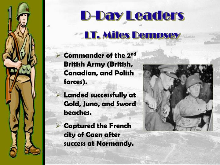 D-Day Leaders