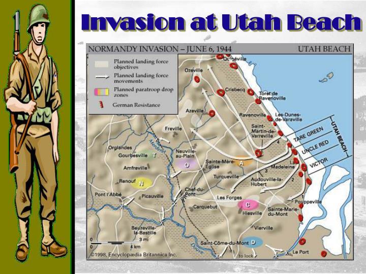 Invasion at Utah Beach