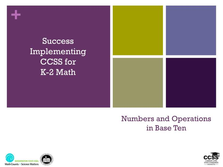 numbers and operations in base ten n.