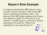bayes s rule example