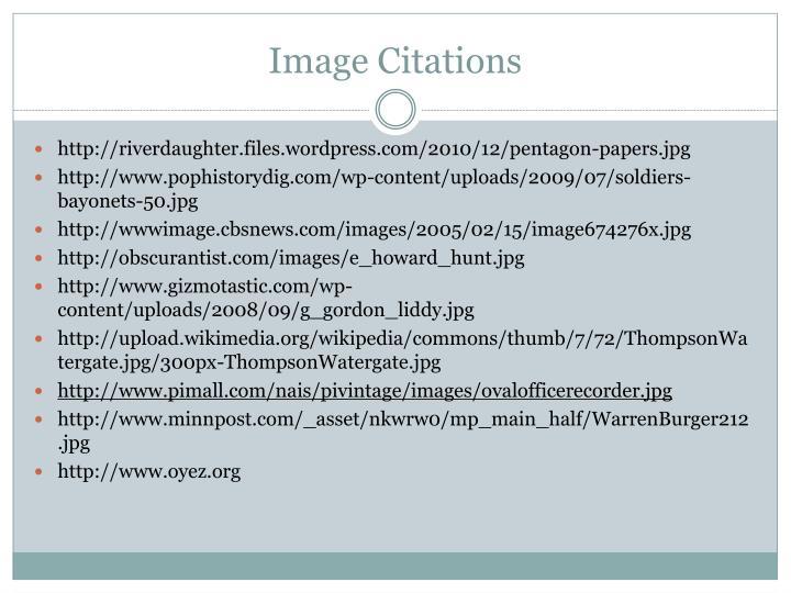 Image Citations