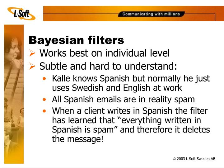 Bayesian filters