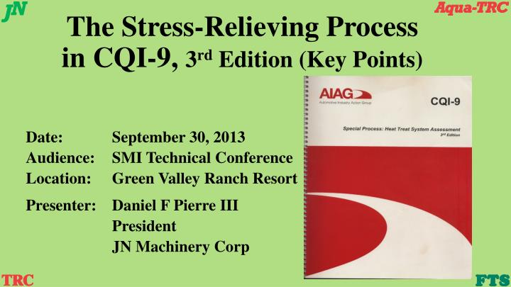 Aiag cqi-9 special processes | heat treating | industries.