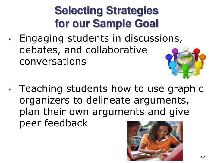 Engaging students in discussions, debates, and collaborative conversations