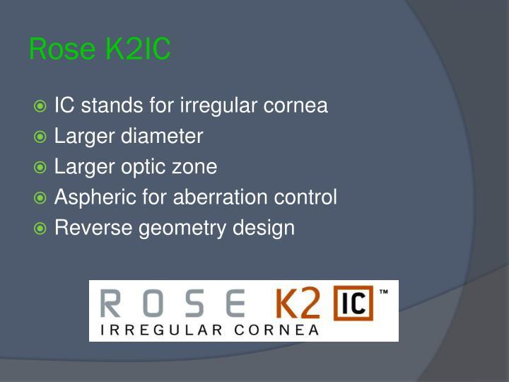 Rose K2IC