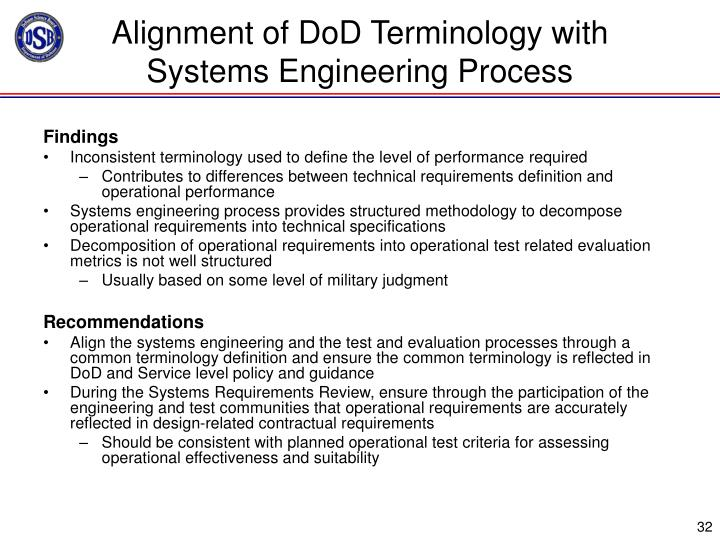 Operational Test And Evaluation Contributes To Engineering Design