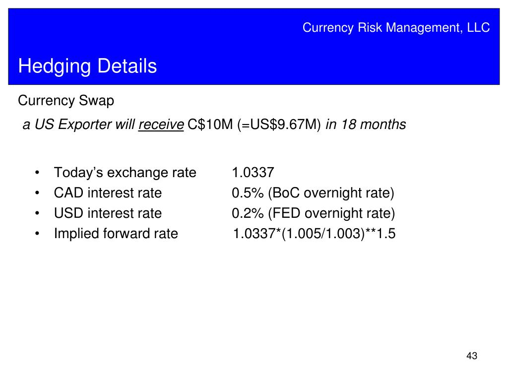 PPT - Best Practices in Currency Risk Management PowerPoint