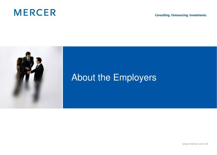 About the Employers