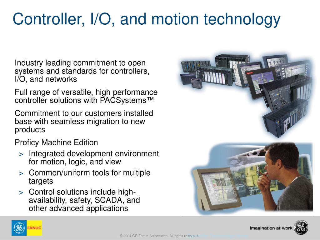 PPT - GE Fanuc's Solutions for Automation and Intelligent