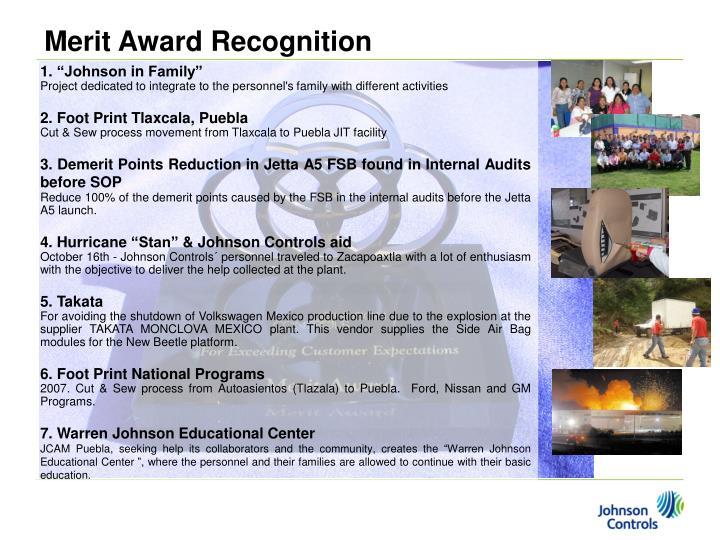 Merit Award Recognition
