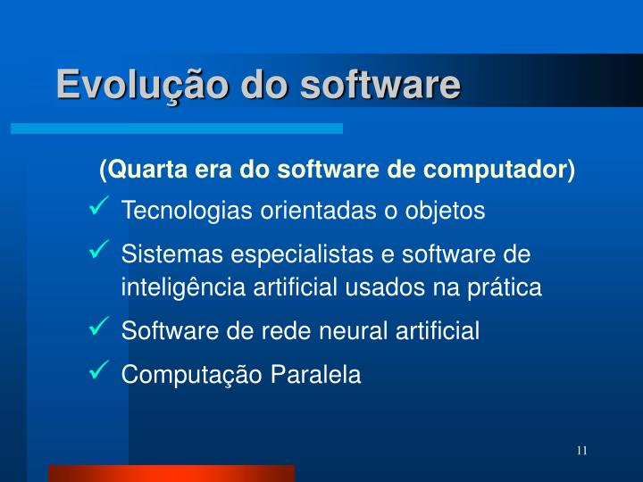 Evolução do software