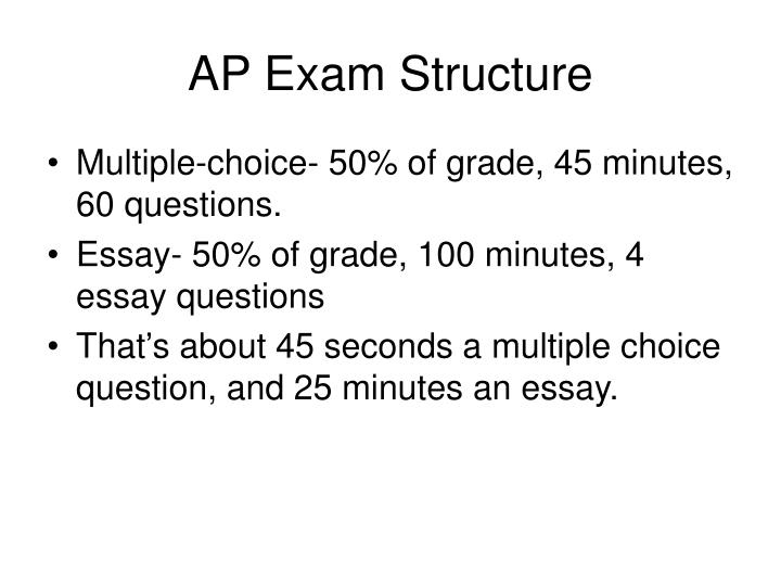 ap exams essay questions 100% free ap test prep website that offers study material to high school students seeking to prepare for ap exams enterprising students use this website to learn ap class material, study for class quizzes and tests, and to brush up on course material before the big exam day.