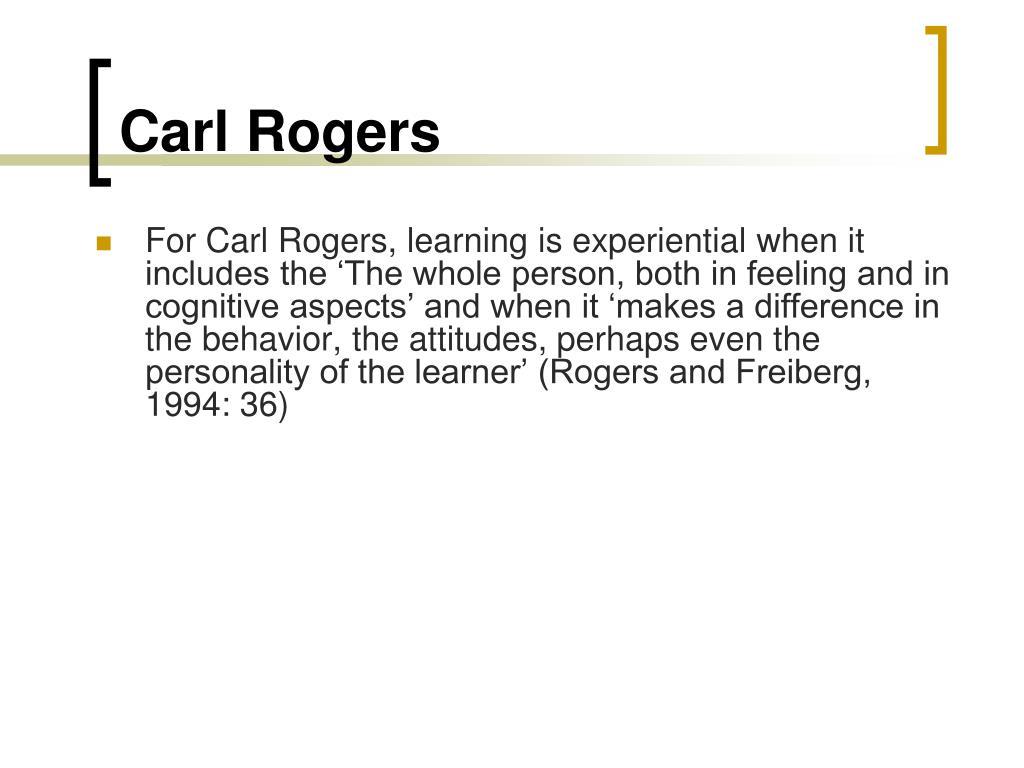 carl rogers model