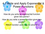 4 7 write and apply exponential power functions