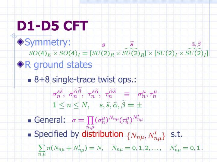 D1-D5 CFT