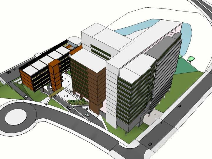 Edifícios Institucionais do BH-TEC -