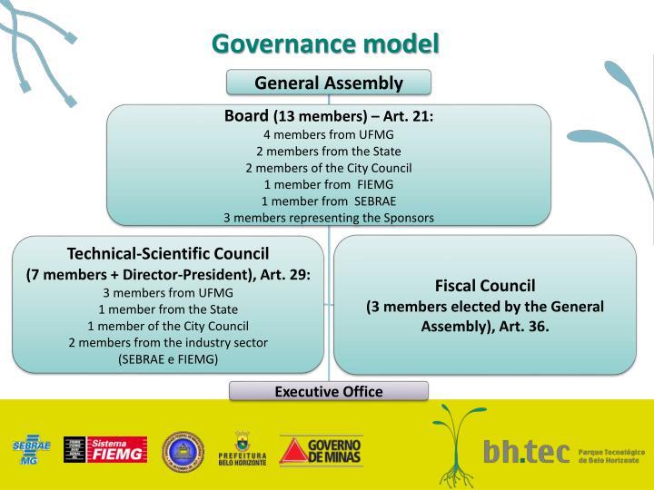 Governance model
