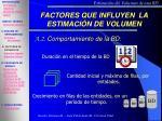 factores que influyen la estimaci n de volumen2