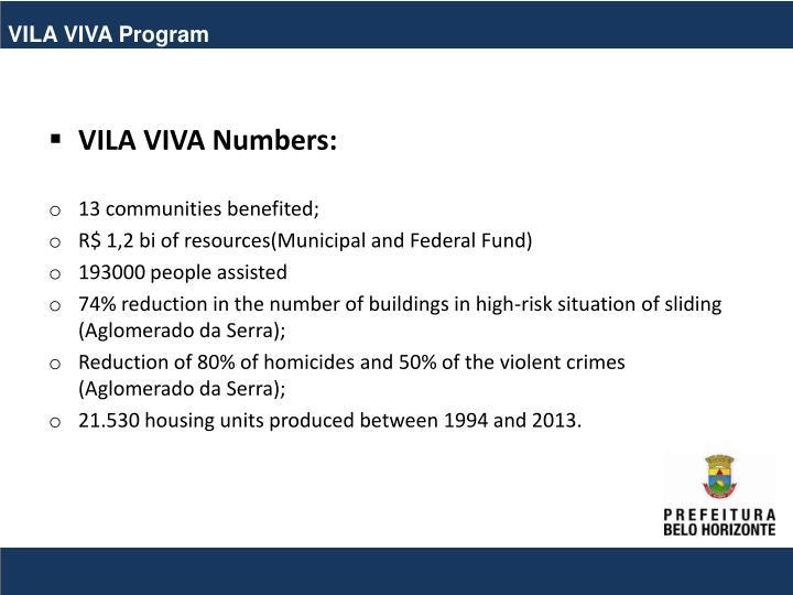 VILA VIVA Program
