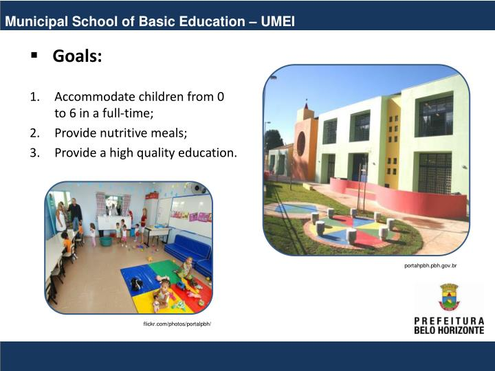 Municipal School of Basic Education – UMEI