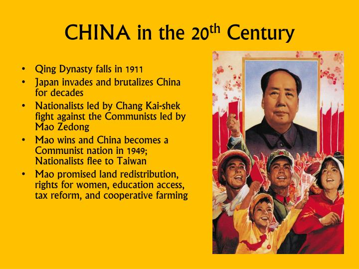 CHINA in the 20