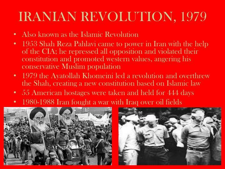 IRANIAN REVOLUTION, 1979