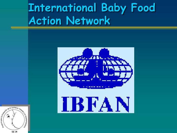 International Baby Food Action Network