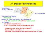 r 0 angular distributions