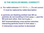 is the heckler model correct4