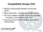 compatibility groups cg