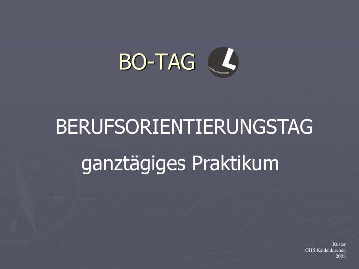 Bo tag