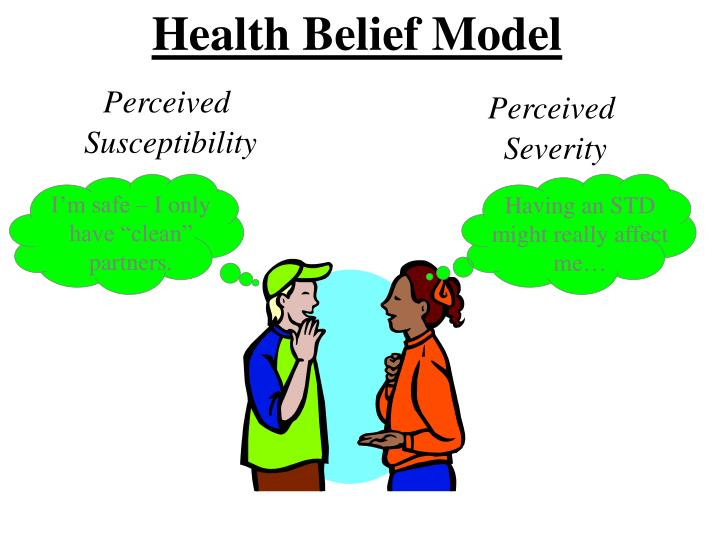 health belief model theory ppt