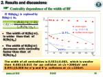 2 results and discussions centrality dependence of the width of bf