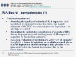 ria board competencies 1