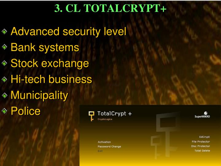 3 cl totalcrypt