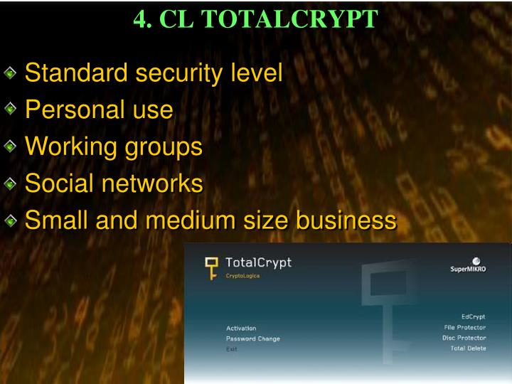 4. CL TOTALCRYPT