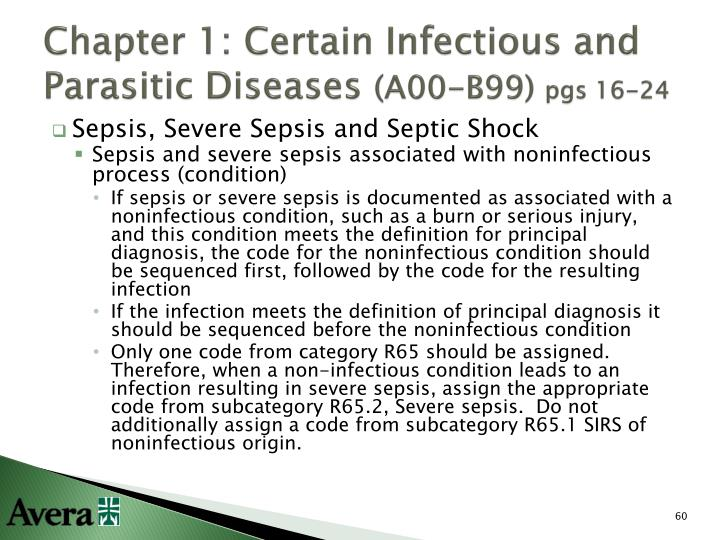 Chapter 1: Certain Infectious and Parasitic Diseases