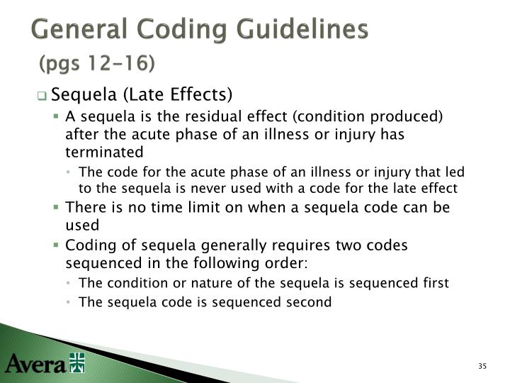 General Coding Guidelines