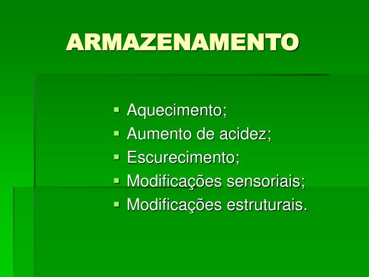 ARMAZENAMENTO