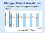 chopper output waveforms