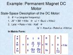 example permanent magnet dc motor