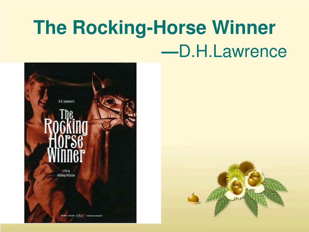 lawrence the rocking horse winner