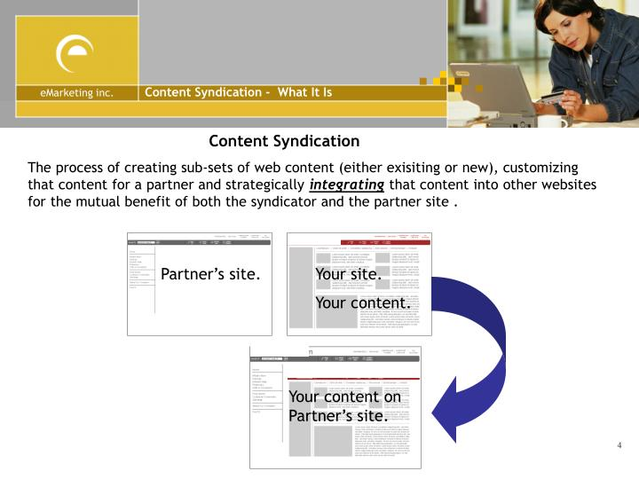 Content Syndication -  What It Is