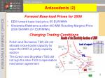 forward base load prices for 2008
